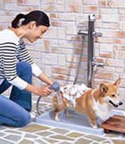 『ペット用水栓柱』